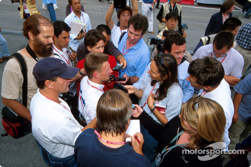 Interview for Allan McNish