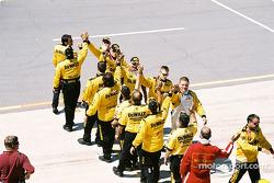 Roush Racing DeWalt team