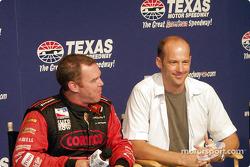 Al Unser Jr. and Anthony Edwards