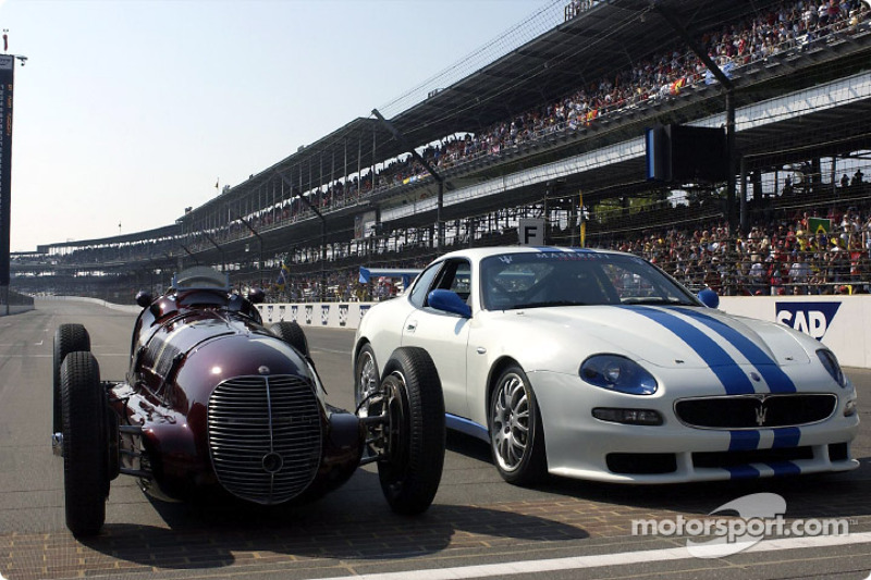The Maserati 8CTF and the Trofeo