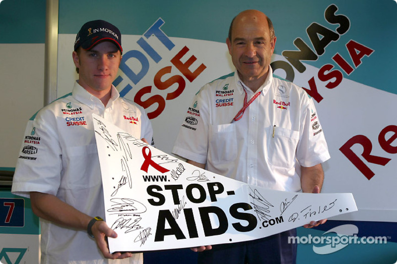 Nick Heidfeld and Peter Sauber