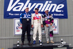 The podium: Bill Hagerty with Erich Heuschele and John Fernandez