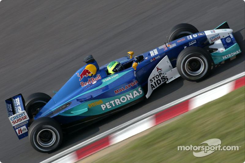2002 : Sauber C21, à moteur Petronas (Ferrari)