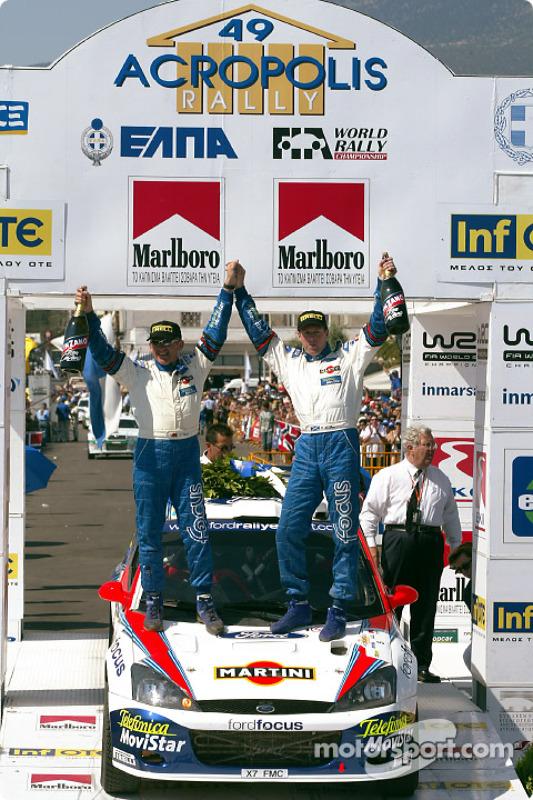 El ganador del rally Colin McRae