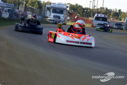 #18-Erika Hearn leads the way in Briggs Junior Sportsman-2 Heavy