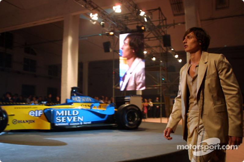 Fiesta de medios Spoon/Mild Seven RenaultF1
