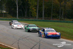Paul Menard leads Johnny Miller