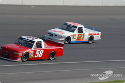 Chris Horn and Morgan Shepherd