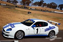 Maserati Trofeo in the paddock