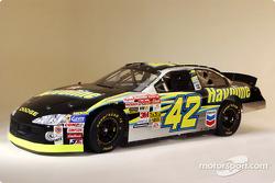El Havoline Dodge 2003 que conducirá Jamie McMurray en la NASCAR Winston Cup Series 2003