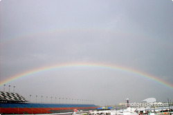 Rainbow over Daytona