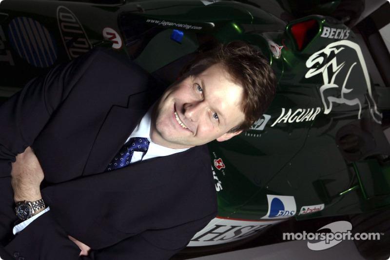 New Jaguar Racing managing director David Pitchford at the team's headquarters in Milton Keynes
