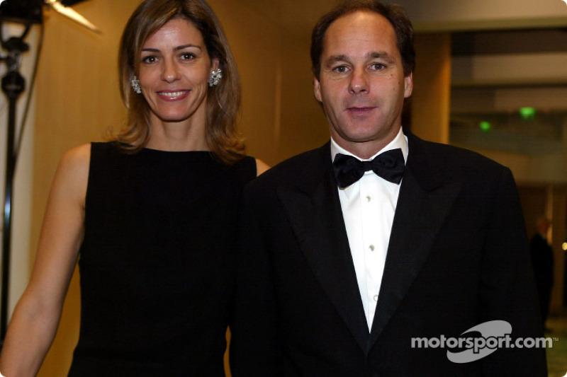 Mrs and Mr Gerhard Berger (BMW)