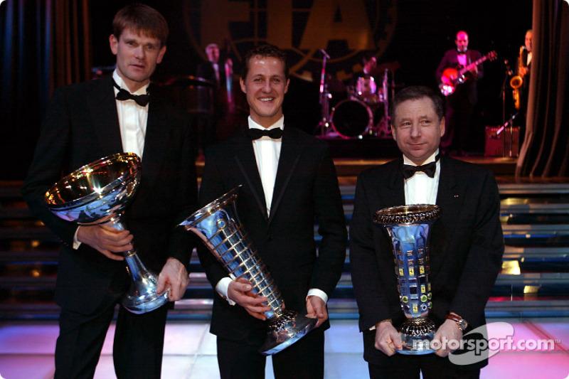 FIA Champions, Marcus Gronholm, Michael Schumacher, Jean Todt