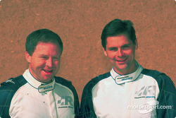 Volkswagen Tarek test drive, November 2002: Bobby Willis and Stéphane Henrard