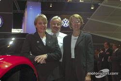 Volkswagen Tarek World debut at the Essen Motor Show: Jutta Kleinschmidt and Fabrizia Pons