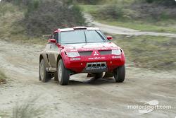 Mitsubishi Pajero Evolution-Montero Evolution, Team ENEOS Mitsubishi Ralliart: Hiroshi Masuoka and Andreas Schulz
