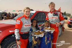 Ari Vatanen and Tina Thorner