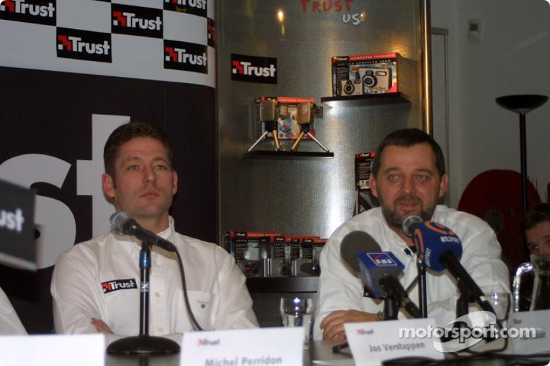 Jos Verstappen and Paul Stoddart
