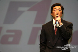 Honda R&D project leader Takeo Kiuchi