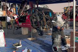 Volkswagen Racing bivouac