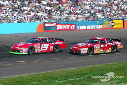 Jeremy Mayfield and Kenny Wallace