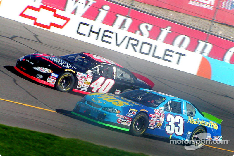 Brian Vickers and Tony Raines