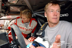 Ari Vatanen and Tina Thorner