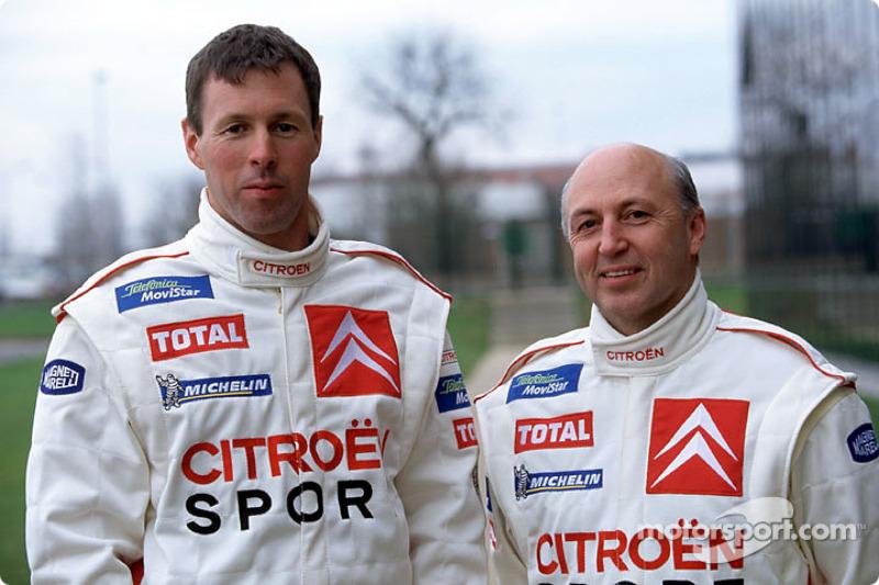 Presentación de Citroën Sport: Colin McRae y Derek Ringer