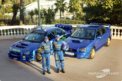 Petter Solberg and Tommi Makinen