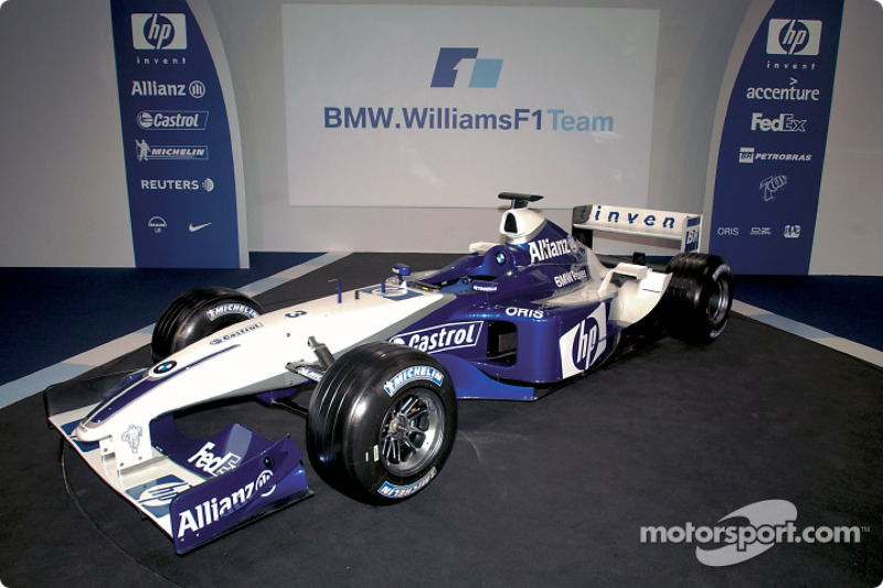 The new BMW Williams F1 FW25