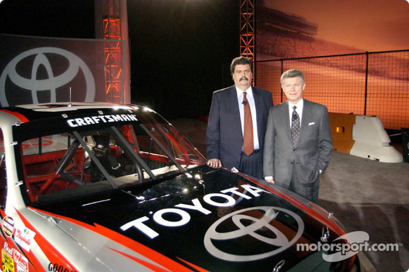 Nascar And Toyota Announce The Toyota Tundra Nascar Craftsman Truck