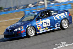 #69 Honda of America Racing Team Acura RSX-S: Shawn Allen, Chad Gilsinger
