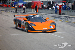 #24 Perspective Racing Mosler MT900R: Michel Neugarten, Joao Barbosa heads to starting grid