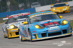 #67 The Racers Group Porsche GT3 RS: Michael Schrom, Pierre Ehret, Vic Rice
