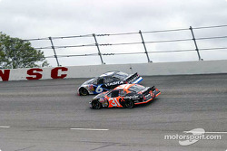 Mark Martin and Robby Gordon