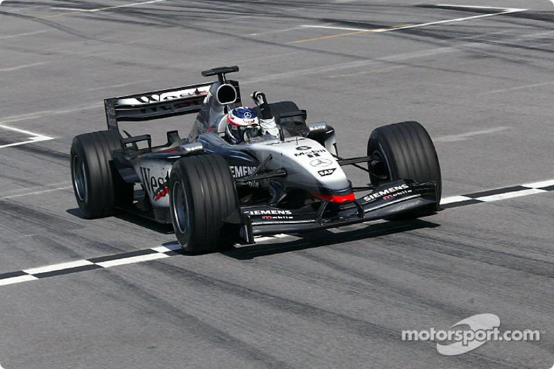 2003: Kimi Räikkönen, McLaren-Mercedes MP4-17D