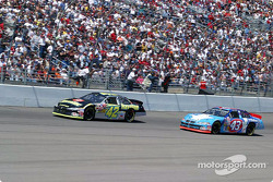 Jamie McMurray and John Andretti