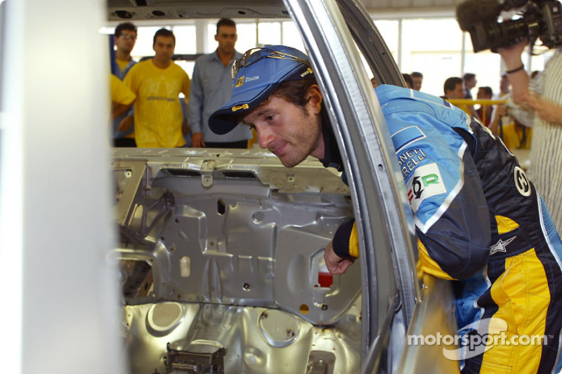 Visit of the Ayrton Senna Renault Factory in Curitiba: Jarno Trulli