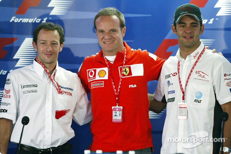 Thursday press conference: Cristiano da Matta, Rubens Barrichello and Antonio Pizzonia