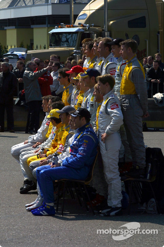 The class of 2003: all the drivers of the DTM