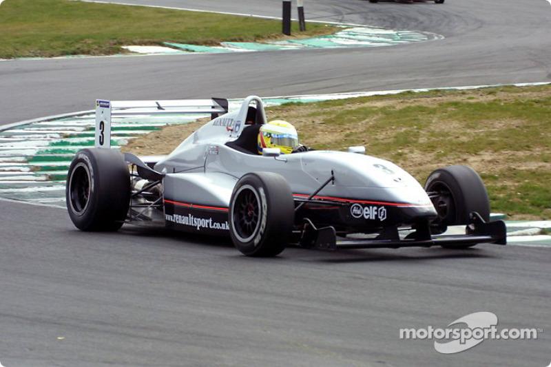 Чемпион британской Формулы Renault 2.0 в 2003-м