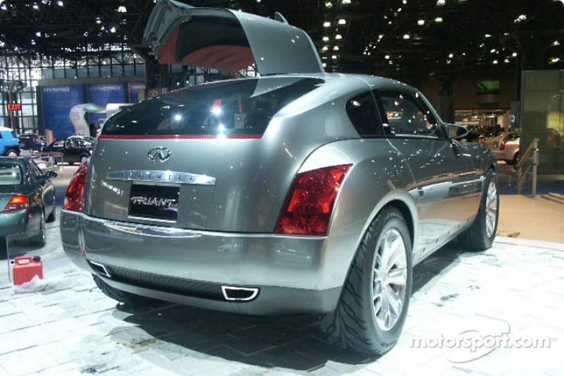 Infiniti Triant Concept At New York International Auto Show