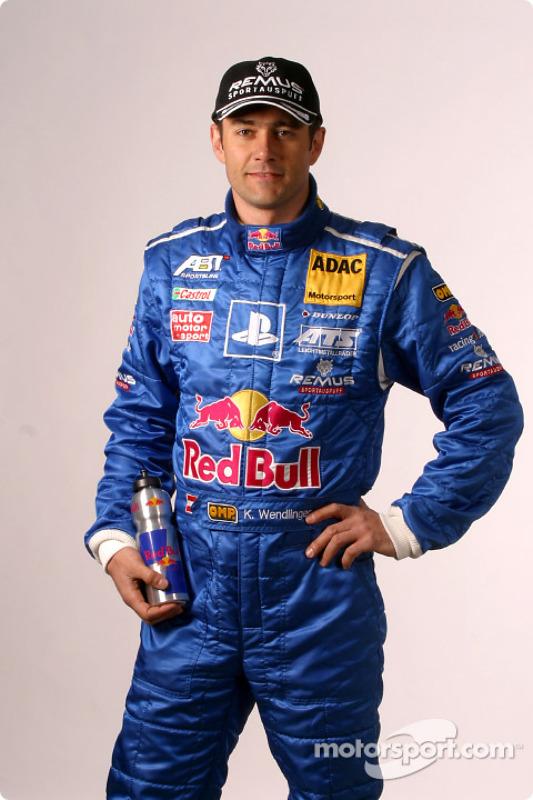 Abt Sportsline drivers presentation: Karl Wendlinger