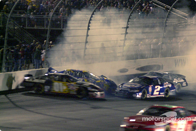 Rusty Wallace and Ryan Newman join the mess with Jeff Green and Jason Keller