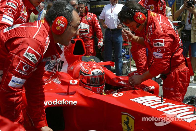 2003 Spanyol GP, Ferrari F2003-GA