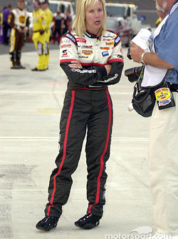 Delana Harvick in the team uniform
