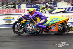 Shawn Gann dominated Pro Stock Bike