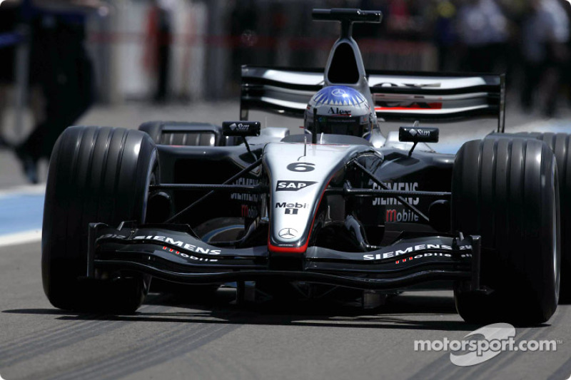McLaren Mercedes MP4-18 (2003, testwagen)