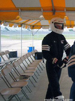 Drivers suit provided by Track Time